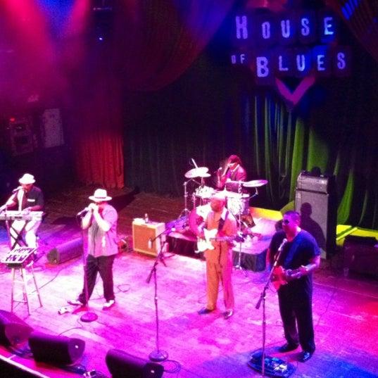 Foto diambil di House of Blues oleh Adam H. pada 5/31/2012