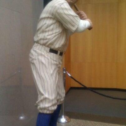 11/5/2011 tarihinde Maxi N.ziyaretçi tarafından National Baseball Hall of Fame and Museum'de çekilen fotoğraf