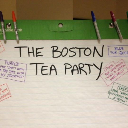6/27/2012 tarihinde Zerah J.ziyaretçi tarafından Old South Meeting House'de çekilen fotoğraf