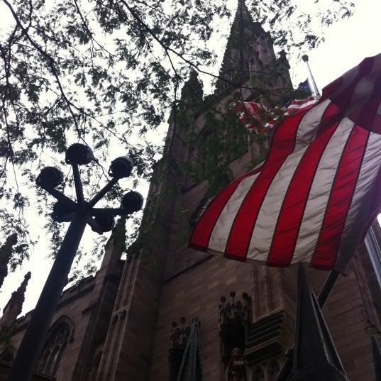 Photo prise au Trinity Church par Mollie  G. le9/11/2011