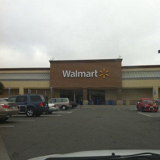 Walmart Supercenter Big Box Store In Salinas