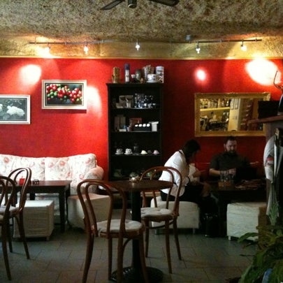 Small café with friendly atmosphere. Try their great coffee!