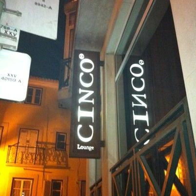 Foto scattata a CINCO Lounge da Luís D. il 8/7/2012