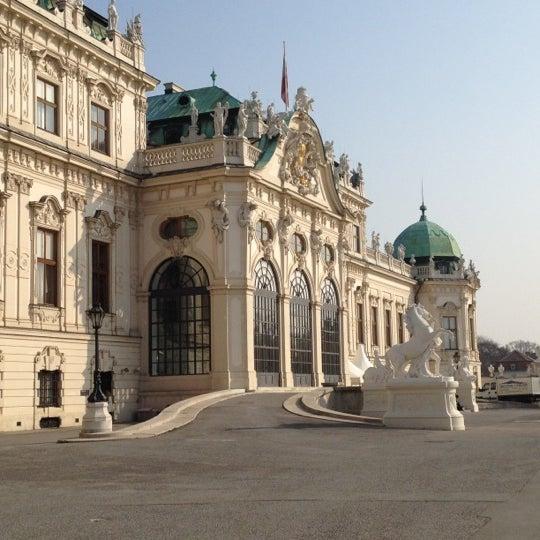 3/23/2012 tarihinde Saida A.ziyaretçi tarafından Oberes Belvedere'de çekilen fotoğraf