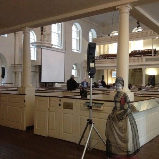 3/29/2012 tarihinde Erin G.ziyaretçi tarafından Old South Meeting House'de çekilen fotoğraf