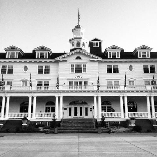 Снимок сделан в Stanley Hotel пользователем David G. 9/1/2012