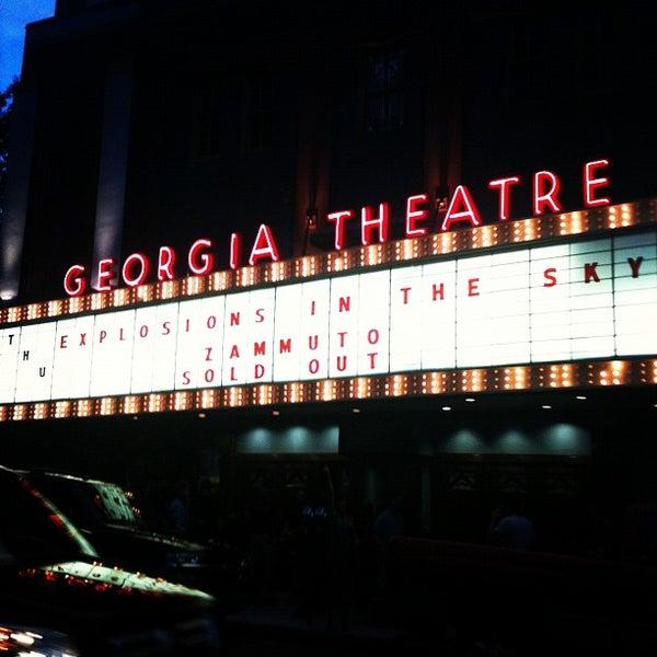 Das Foto wurde bei Georgia Theatre von Dave C. am 6/22/2012 aufgenommen