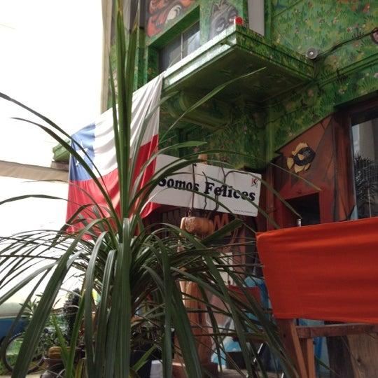 5/24/2012 tarihinde Gamo G.ziyaretçi tarafından Terraza Isidora Beach Club'de çekilen fotoğraf