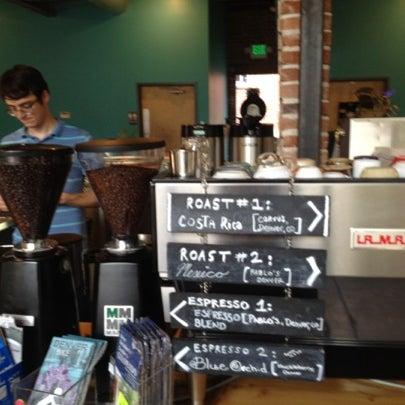 Photo taken at Denver Bicycle Cafe by Tim J. on 9/3/2012