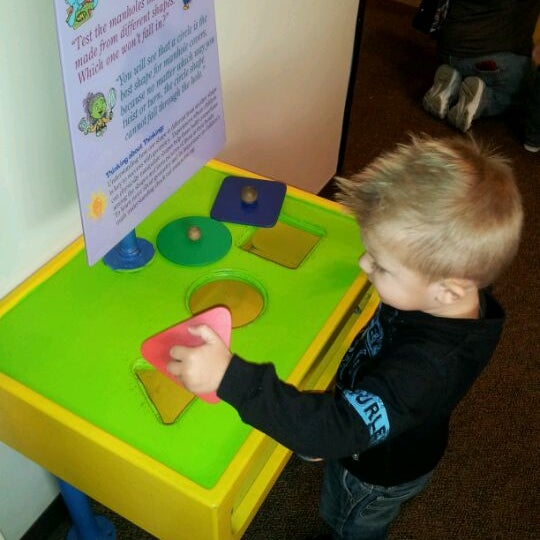 Photo taken at Children's Museum of Houston by Laci on 1/28/2012