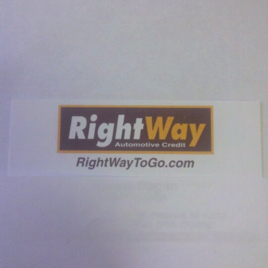 Rightway Auto Sales >> Photos At Rightway Auto Sales Automotive Shop