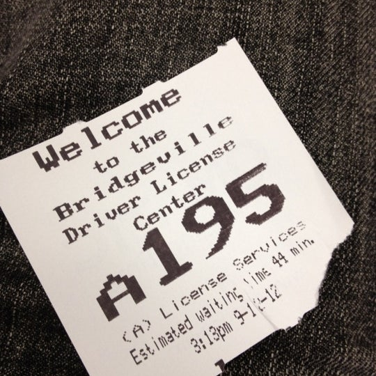 pennsylvania drivers license center bridgeville