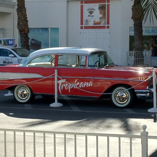 Снимок сделан в Tropicana Las Vegas пользователем Mark J. 3/10/2012
