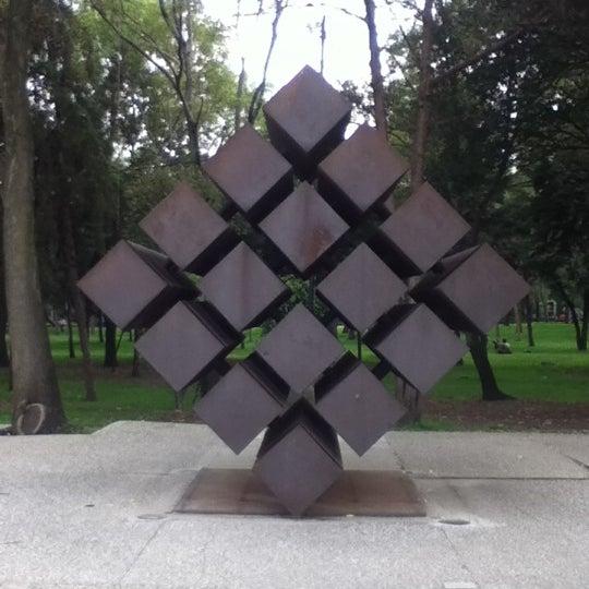 Foto tomada en Museo Tamayo por Raúl P. el 9/8/2012