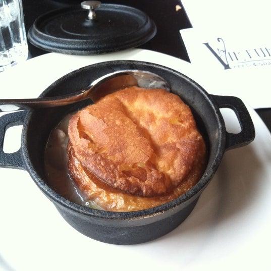 Chicken pot pie is amazing!!