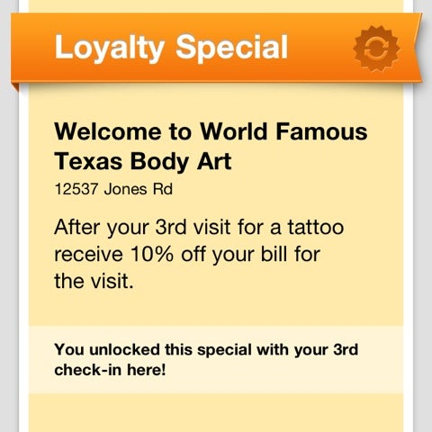 Photos At World Famous Texas Body Art 12537 Jones Rd