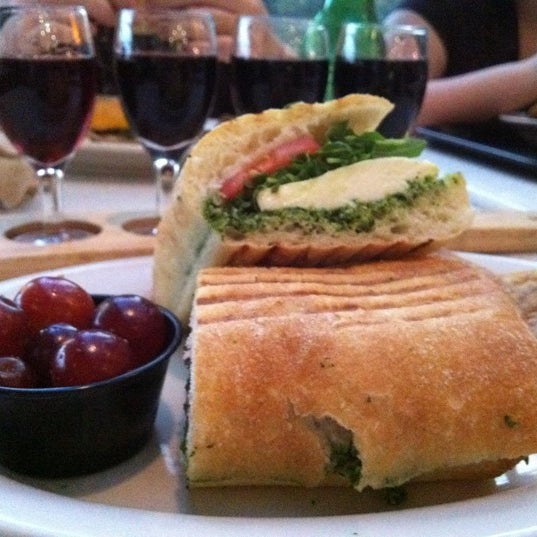 Caprese Panini is awesome!! Love this little gem of a restaurant!