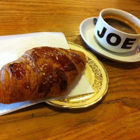 Free croissant with every hot drink