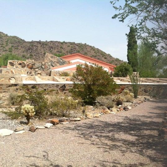 รูปภาพถ่ายที่ Taliesin West โดย Daniel H. เมื่อ 8/15/2012