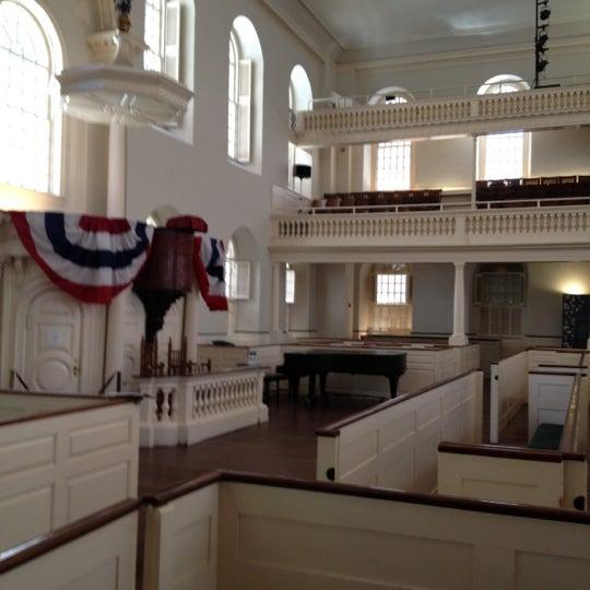 6/15/2012 tarihinde Deb H.ziyaretçi tarafından Old South Meeting House'de çekilen fotoğraf