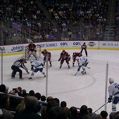 Photo prise au Gila River Arena par Richard B. le2/29/2012