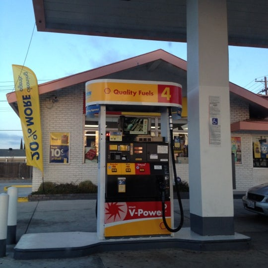 Ralphs Gas Station >> Shell 1220 Sycamore Dr