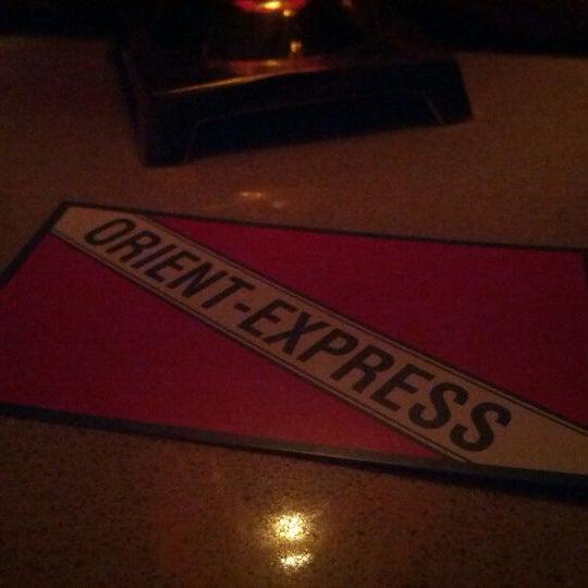 2/25/2012 tarihinde Eli H.ziyaretçi tarafından Orient Express'de çekilen fotoğraf
