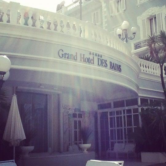 6/10/2012にSilvia T.がGrand Hotel Des Bainsで撮った写真