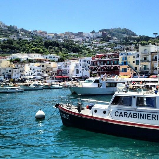 Снимок сделан в Capri Tiberio Palace пользователем Freddy 7/19/2012