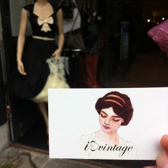 8/26/2011にiAyoeがI Love Vintageで撮った写真