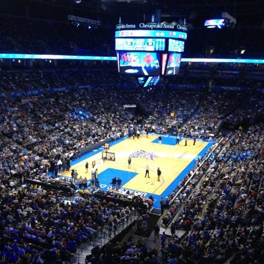 Das Foto wurde bei Chesapeake Energy Arena von Michael P. am 4/14/2012 aufgenommen