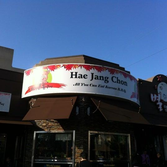 Foto scattata a Hae Jang Chon Korean BBQ Restaurant da Andy C. il 5/21/2012