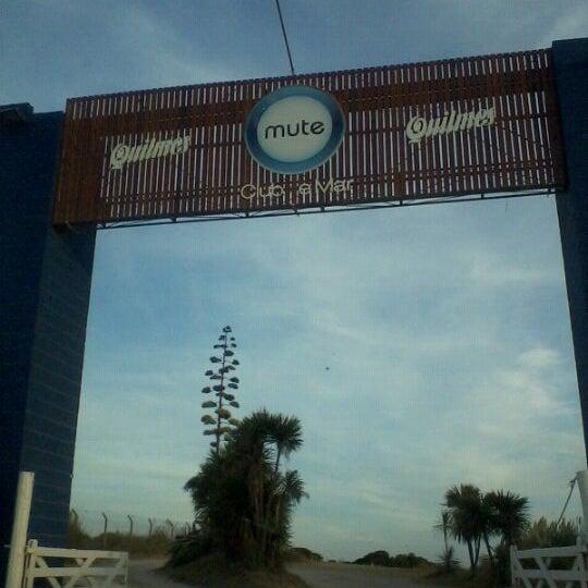 Foto tomada en Mute Club de Mar por Maquiavelivi ❤. el 2/11/2012
