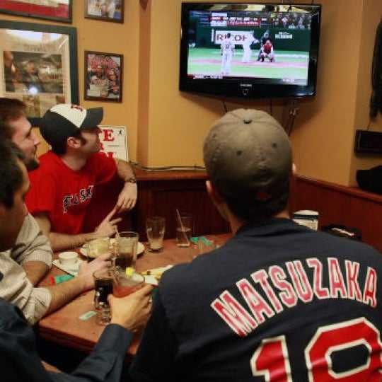 Great Boston sports bar. Wear your Red Sox jersey and get some extra love from the bartenders. Pro Tip: stay upstairs to avoid the crowds.