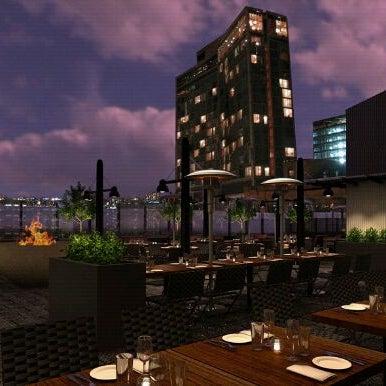 Das Foto wurde bei STK Rooftop von Mark R. am 10/17/2011 aufgenommen