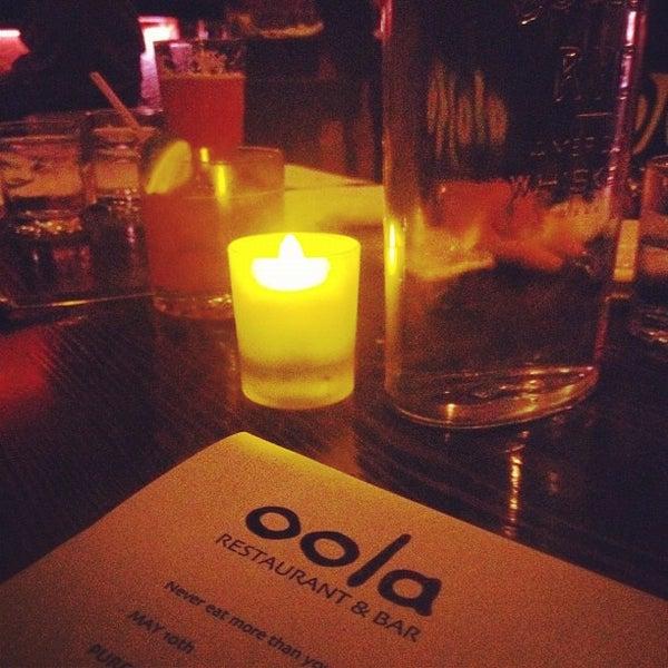 รูปภาพถ่ายที่ Oola Restaurant & Bar โดย Paul S. เมื่อ 5/11/2012