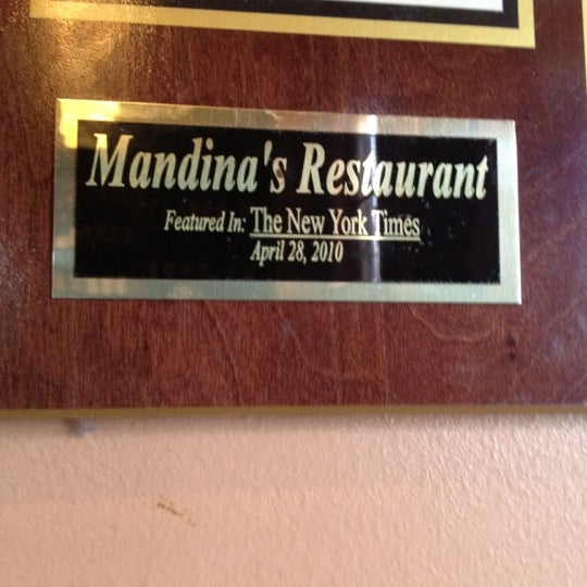 Photo taken at Mandina's Restaurant by Trent D. on 7/8/2012