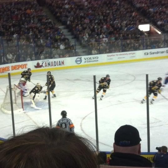 4/7/2012 tarihinde Christine V.ziyaretçi tarafından Northlands Coliseum'de çekilen fotoğraf
