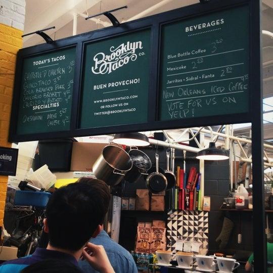4/13/2012にJon Z.がBrooklyn Taco Companyで撮った写真