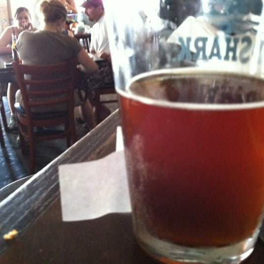 Try the cape may brewing company beer on tap.  Very good local beer.