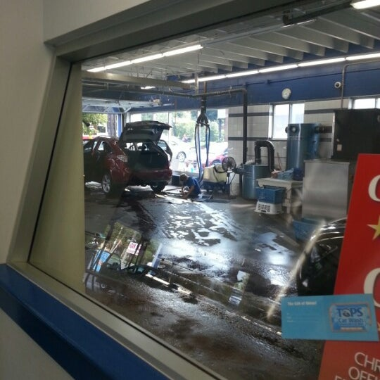 Photo Taken At Tops Car Wash By Trevor L On 8 25 2017