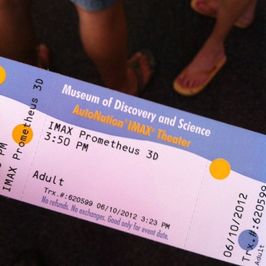 Photo prise au Autonation IMAX 3D Theater par Alex L. le6/10/2012