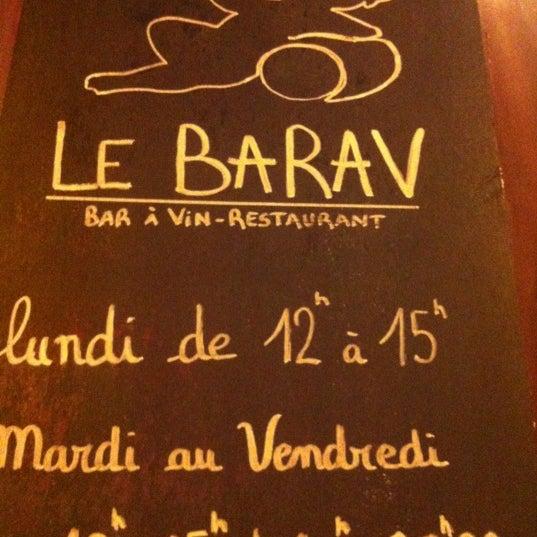 4/28/2012 tarihinde xavierziyaretçi tarafından Le Barav'de çekilen fotoğraf