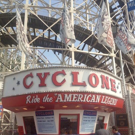 Foto tomada en The Cyclone por Walter L. el 5/27/2012