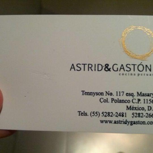 Foto diambil di Astrid & Gastón oleh Carlos G. pada 4/29/2012