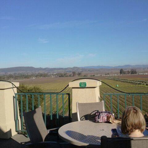 Interesting in that they do not do flights or tastes. Fine for a glass overlooking the vineyards.