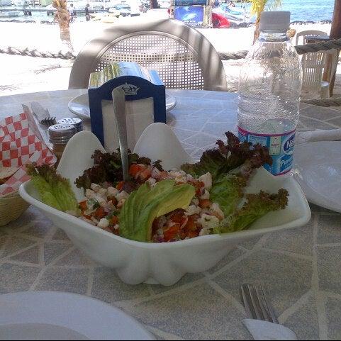 Prueben el ceviche de pescado! El mejor del caribe!