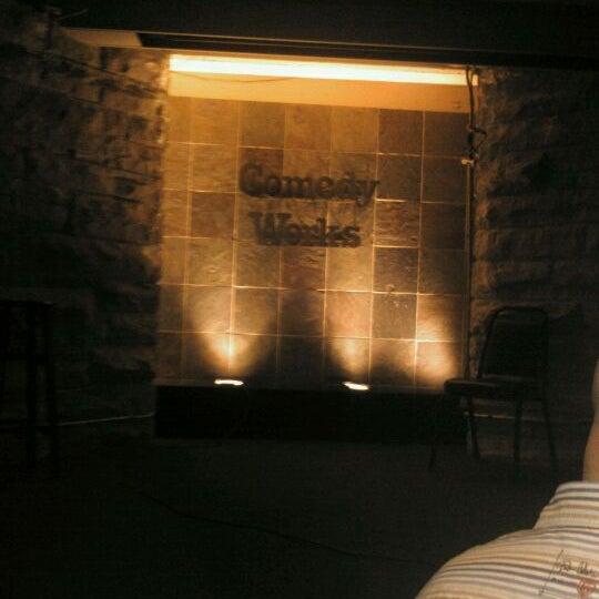 10/22/2011 tarihinde Chris F.ziyaretçi tarafından Comedy Works Downtown in Larimer Square'de çekilen fotoğraf