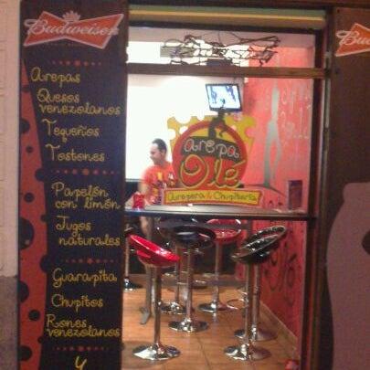 """6/3/2012 tarihinde J S.ziyaretçi tarafından Arepa Olé """"Chueca""""'de çekilen fotoğraf"""