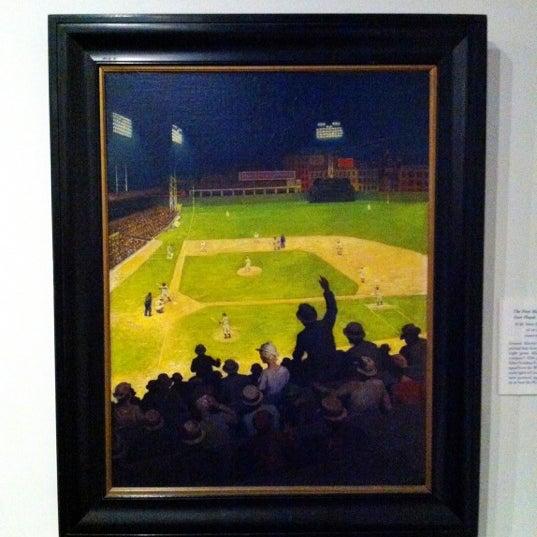 8/9/2012 tarihinde Coryziyaretçi tarafından National Baseball Hall of Fame and Museum'de çekilen fotoğraf